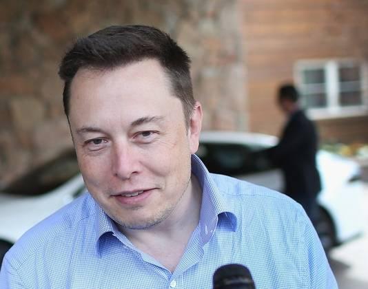 Zakenman Elon Musk.