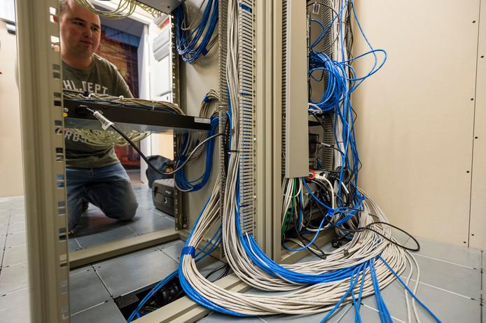 Ict-serverruimte.
