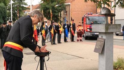 Minister Jambon op herdenking 9/11