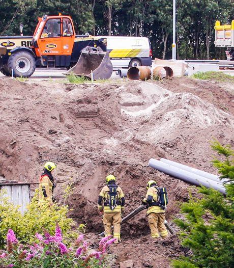 Vijf huishoudens zonder gas door kapotgetrokken gasleiding