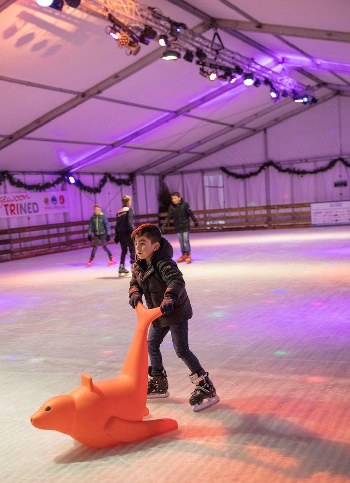 De Helmondse ijsbaan in 2018.