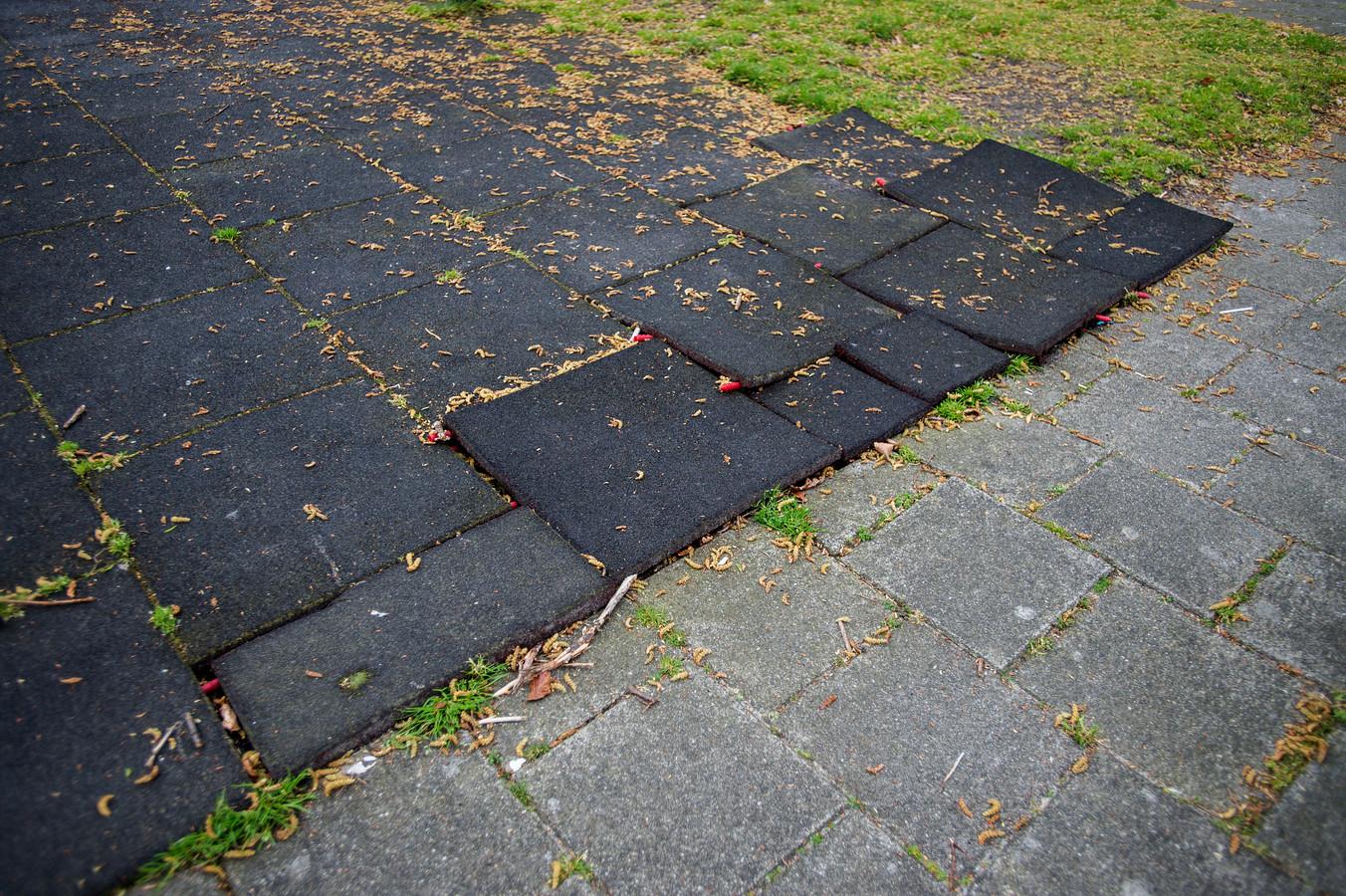 Losliggende tegels. Foto ter illustratie.