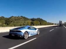 Italiaanse politie gebruikt Lamborghini voor niertransport: gemiddeld 230 km/u