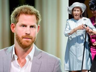 Prins Harry 'diepbedroefd' door overlijden peetmoeder