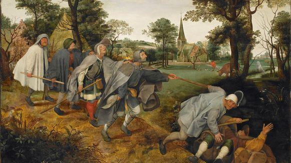 Het originele werk van Bruegel.