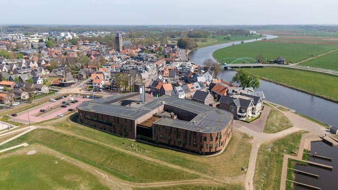 Raadsleden in Dalfsen zijn nog niet overtuigd van de bouw van een natuurhuisje even verderop langs de Vecht.