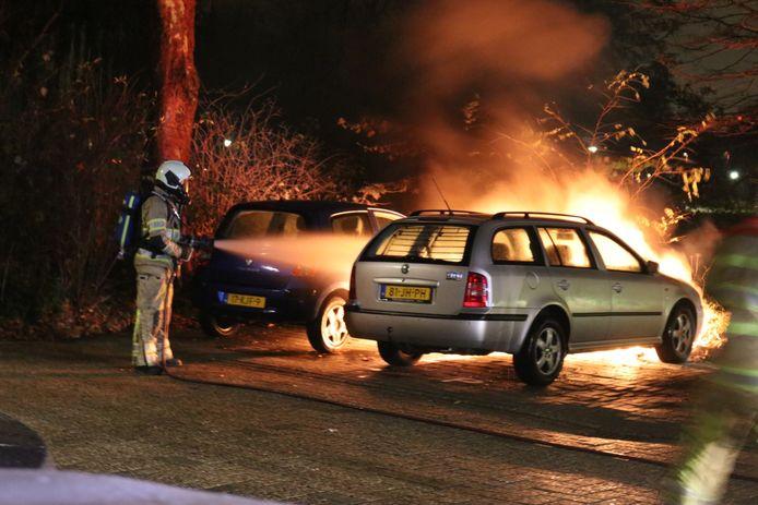 Rond 20.30 uur zaterdagavond was het raak op de Carmenlaan in Nieuwegein.