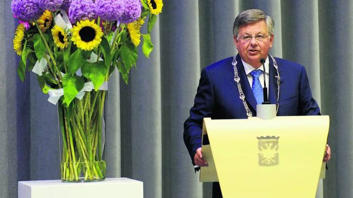 Herman Kaiser, burgemeester van Arnhem. Foto Gerard Burgers