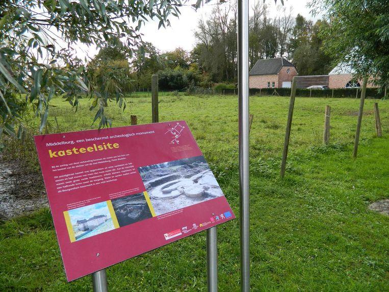 Nu is er op de site geen steen van het kasteel te zien. Alleen een toeristisch bord verwijst naar het rijke verleden.