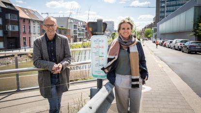 Spitspunten wijzen fietsers de weg naar hun werk