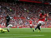 Lukaku maakt zijn eerste voor United