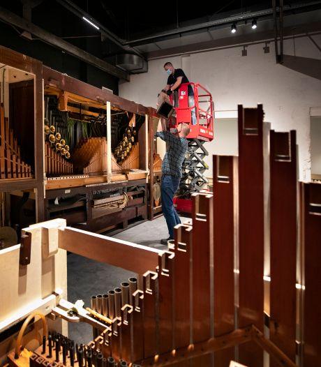 Draaiorgels worden weer opgebouwd in 'terug van weggeweest' Danszaal Bocken