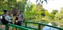 Bij de Tuin van Monet in Giverny was het vorig jaar zomer nog dringen geblazen.