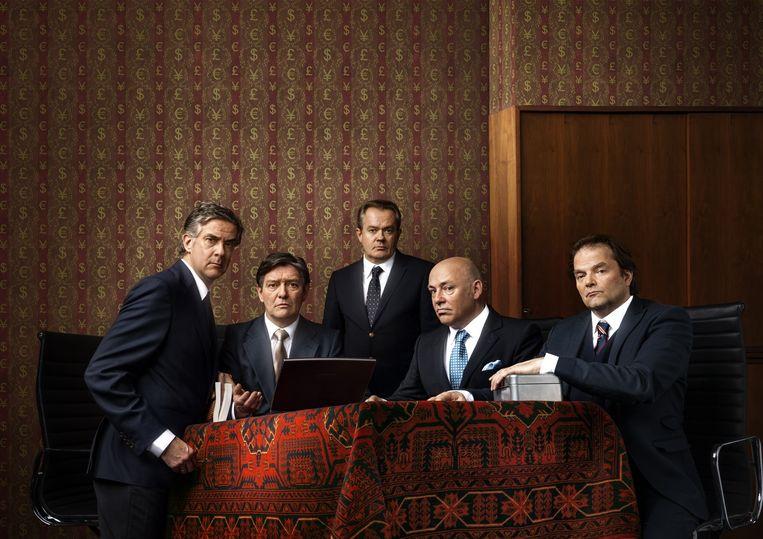 De cast van de Verleiders. Beeld Magicgroup Media
