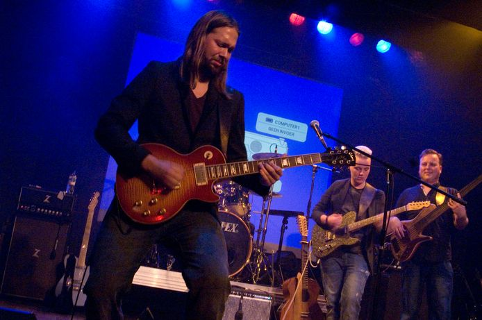 De Leif de Leeuwband in 2018, tijdens de Blues Kroegentocht in Wijk bij Duurstede.