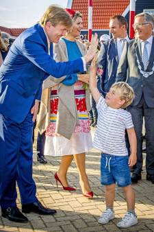 Duncan (4) uit Middelburg: 'Mag ik een high five, vroeg de koning. Dus dat deed ik'