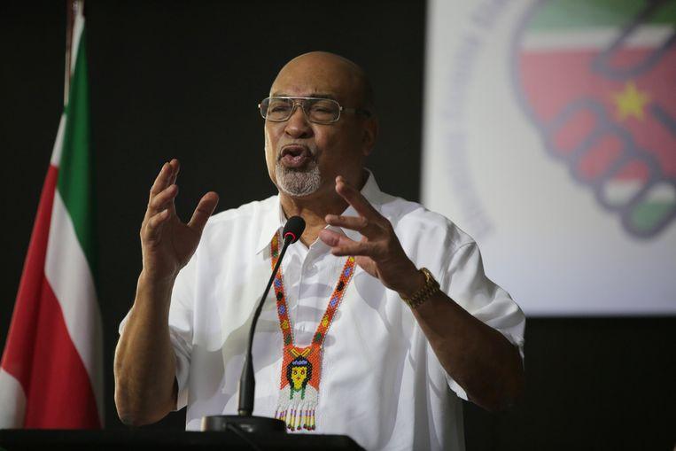 Desi Bouterse, president van Suriname.