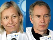 Woedende Navratilova: McEnroe verdient bij BBC tien keer meer