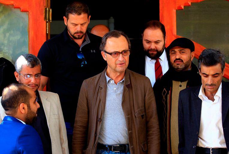Patrick Cammaert in Jemen. Beeld AFP