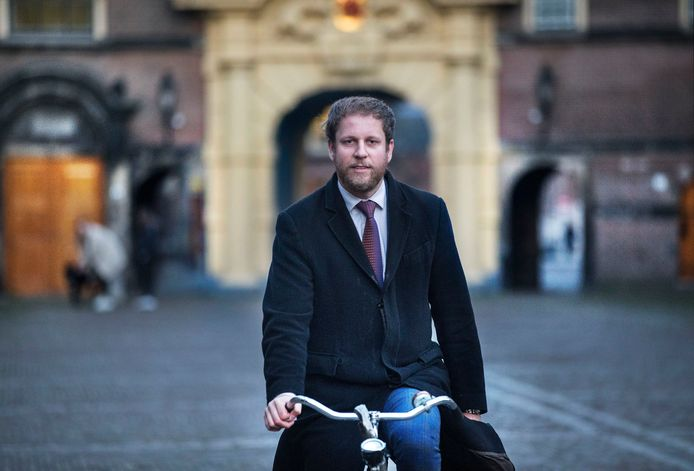 """Gert Jan Geling: ,,Buitenlandse gasten kunnen vaak niet geloven dat politici hier onbeveiligd naar het Binnenhof fietsen."""""""