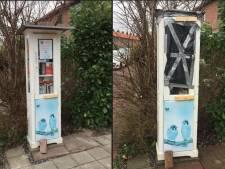 Minibieb vernield in Breukelen: 'Wat voor lol heb je eraan om iets kapot te maken?'