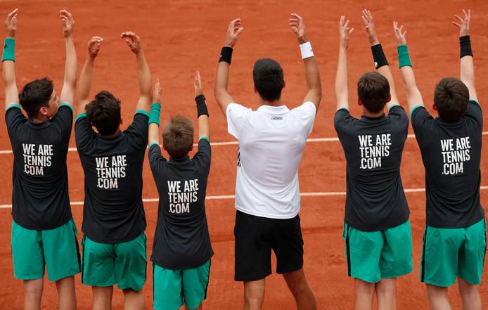Roland Garros Handdoek.De Onzichtbare Krachten Van Roland Garros Tennis Ad Nl