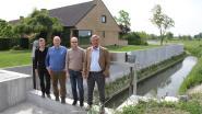 Keermuur aan Ringbeek tegen wateroverlast
