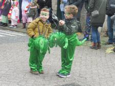 Opnieuw heeft de carnavalsoptocht in Zaltbommel pech