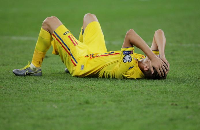 Roemenië kreeg in de 92ste minuut de gelijkmaker om de oren.