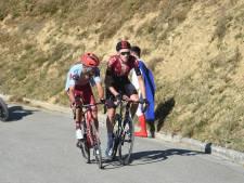 Ruzie tussen nummers twee en drie uit Vuelta-rit vanwege sprintje