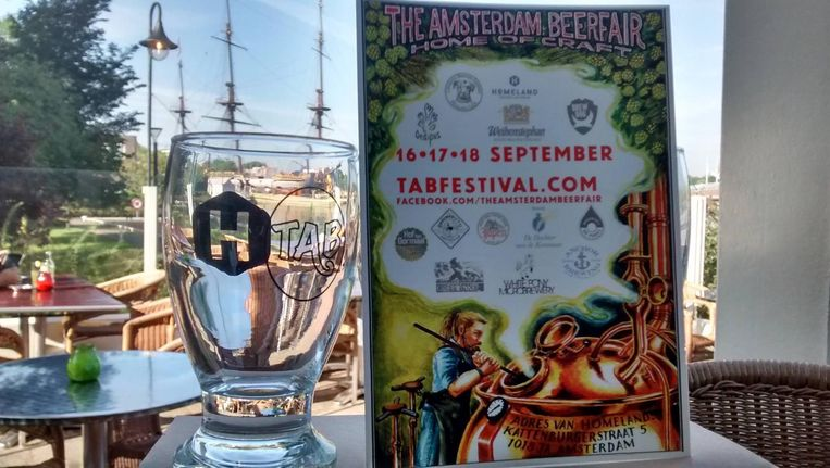 The Amsterdam Beerfair moet een jaarlijks terugkerend festival worden. Beeld W. Jonkman