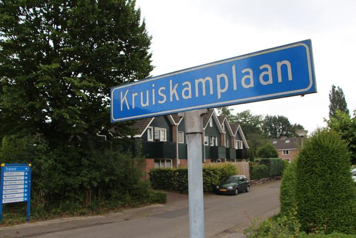 De Kruiskamplaan, waar een bewoner enkele weken dood in huis blijkt te hebben gelegen.
