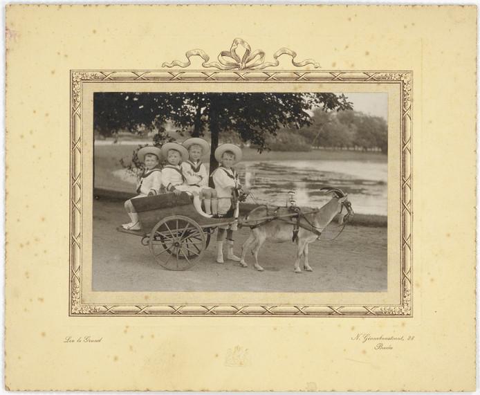 De broers Klep, van links naar rechts: Han, Ab, Ton en Jaap.