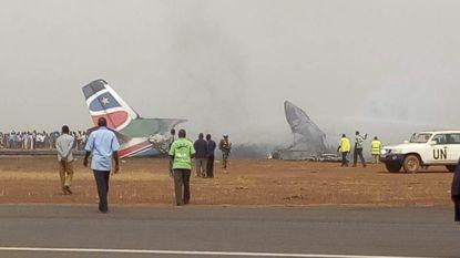 Passagiersvliegtuig crasht op luchthaven in Zuid-Soedan