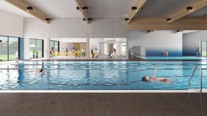 Zwembad mikt op 100.000 bezoekers