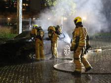 Auto in brand in Rijswijk