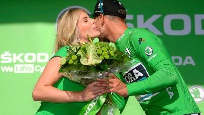 Naast Tim Wellens nog een Belg op het podium: Femke Herygers schittert naast Peter Sagan