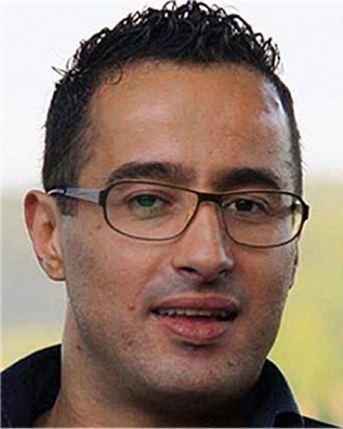 Rachid Zaoudi, de vermiste Zwollenaar, enkele dagen voor zijn verdwijning op 5 december 2013