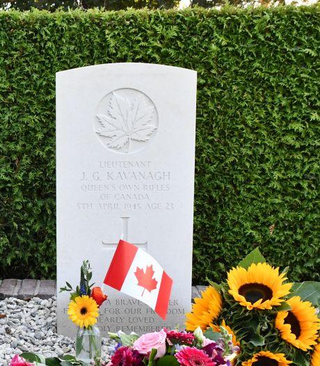 Na 75 jaar eindelijk een graf voor luitenant Kavanagh in Steenderen