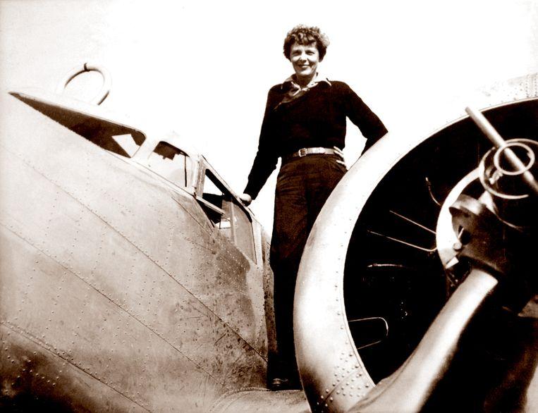 Amelia Earhart, een Amerikaanse pilote, verdween in 1937 van de radar. Wat er precies is gebeurd, is nog steeds onduidelijk.