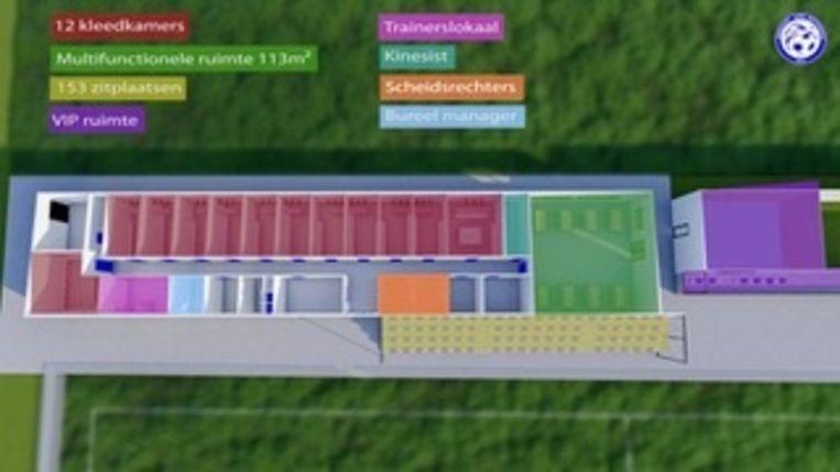 Zo zal het het project van Eendracht Elene Grotenberg eruitzien.