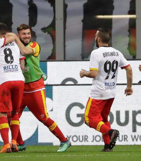 Benevento stelt degradatie uit in San Siro