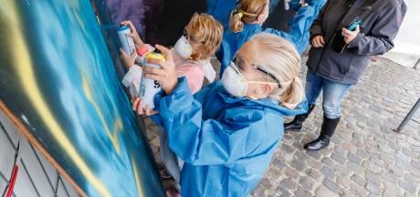 Ode aan overleden klasgenootje bij Graffiti Jam in Zevenbergen