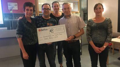 Leden van KWB De Linde zamelen 1.000 euro in voor Memo