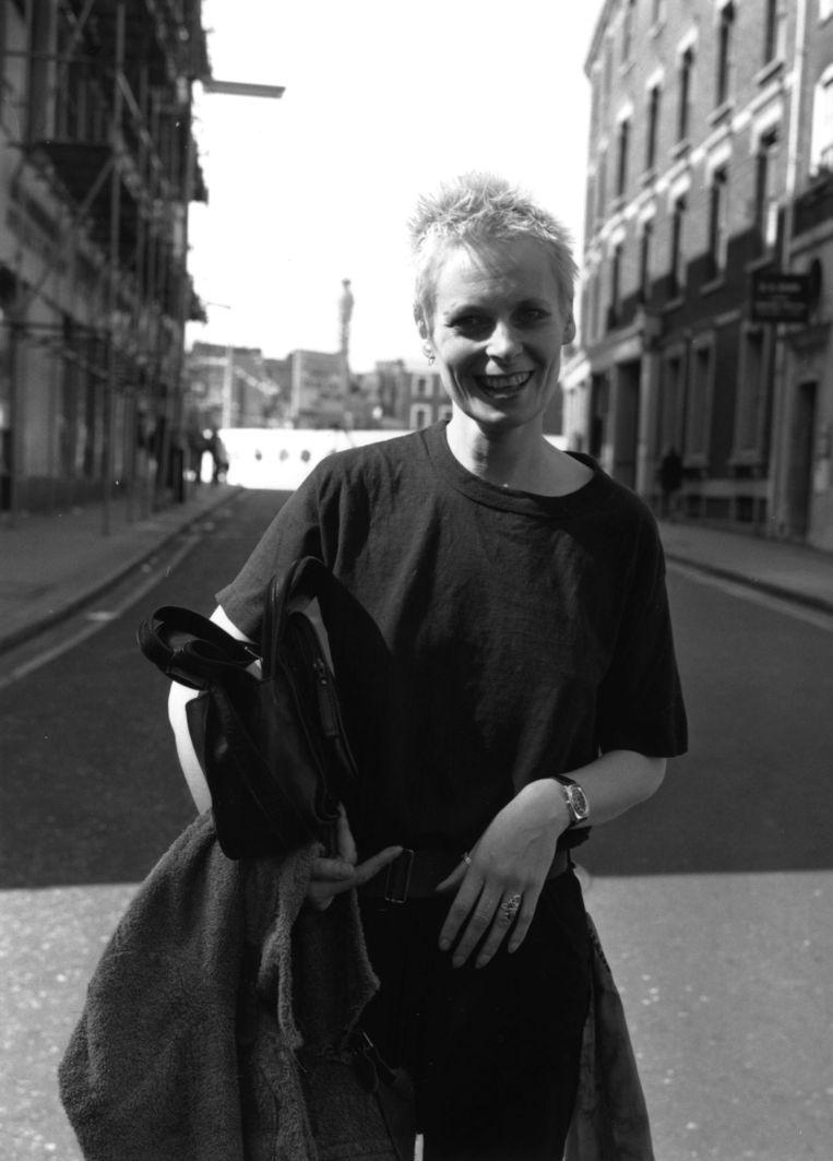 Vivienne Westwood in 1977. Beeld getty