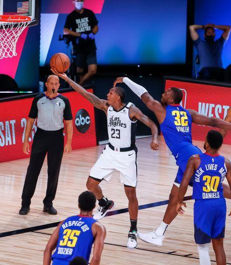 Clippers kloppen Nuggets en treffen nu Mavericks in play-offs NBA