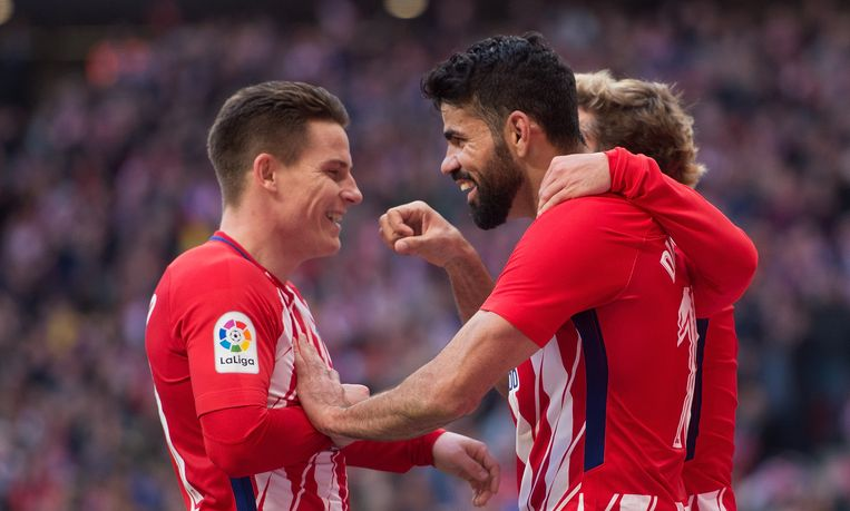 Links Kevin Gameiro, rechts Diego Costa.