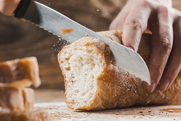 Veel mensen laten brood staan omdat ze bang zijn dat ze last krijgen van de gluten.