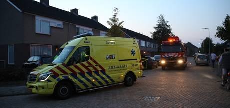 Bewoner naar het ziekenhuis na keukenbrand in Wouw