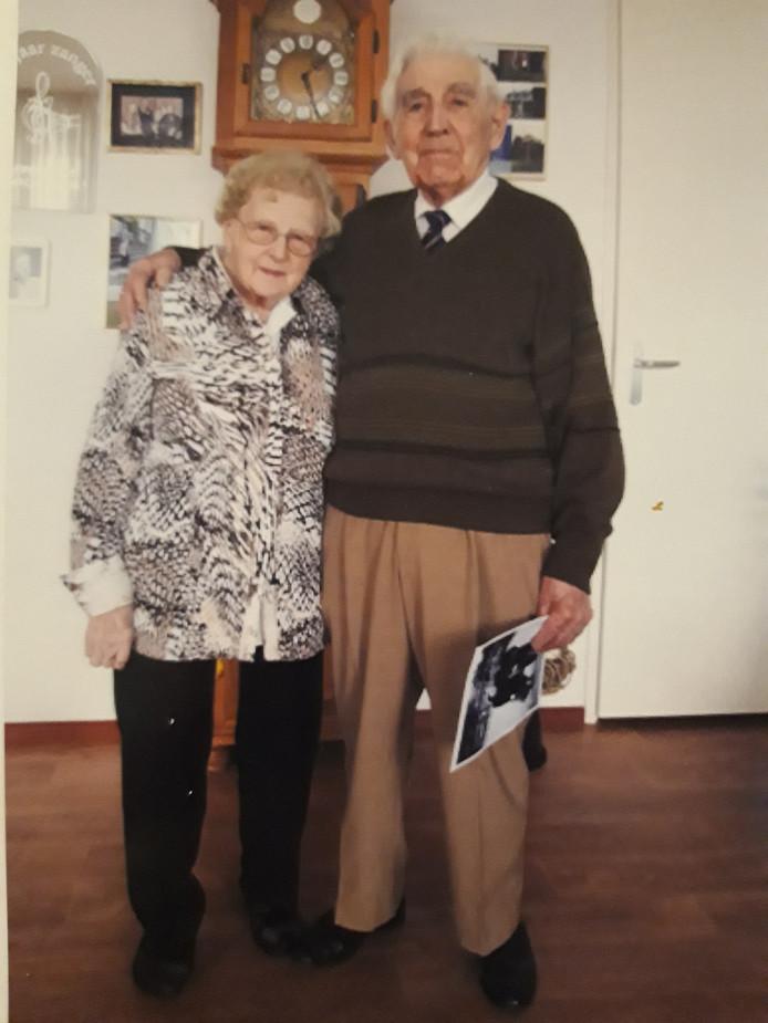 Mien en Piet Verhoijsen-van Bussel uit Someren.